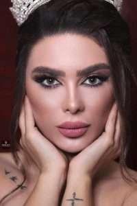 الموديل رهف عبود أجمل وجه في سوريا لعام 2019