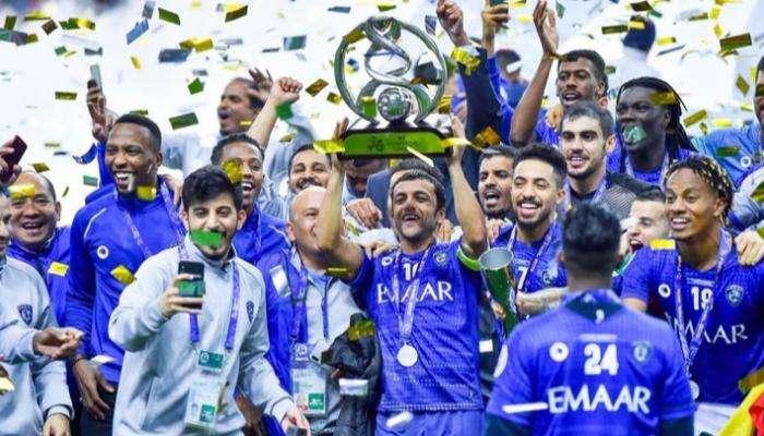الهلال السعودي يحصل على لقب نادي العقد في آسيا - الإمارات نيوز