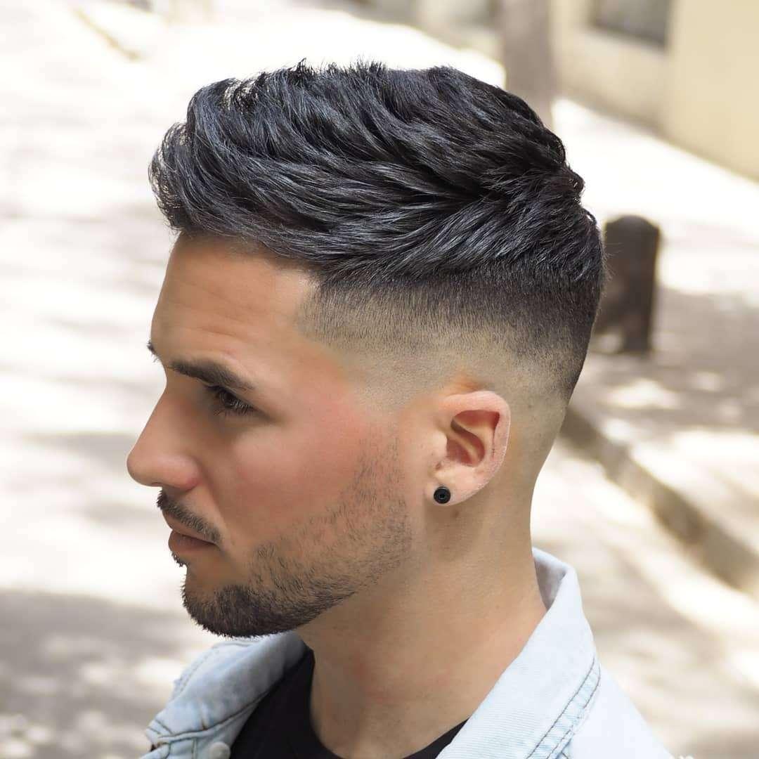 تسريحات شعر شباب قصير