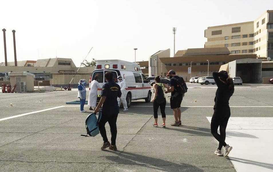 شرطة رأس الخيمة تنقذ 9 أشخاص وتحذّر!
